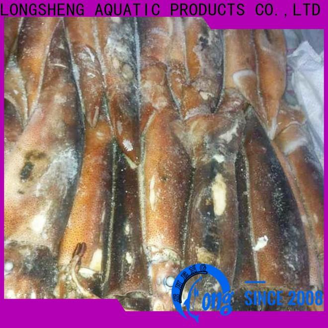 LongSheng tt illex squid price company for cafeteria