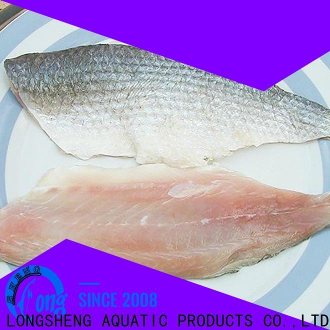 LongSheng fillet frozen fish manufacturers for supermarket