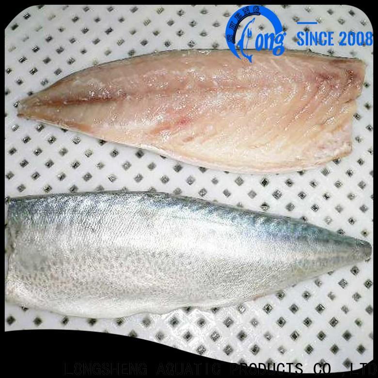 LongSheng professional frozen pacific mackerel fish