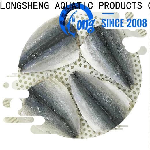 Latest frozen mackerel fillets fish Supply